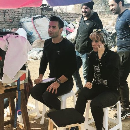 WINNERS (bts) filming in Iran, with the director Hassan Nazer and crew.